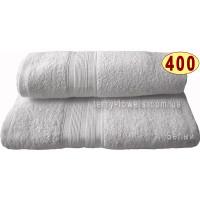 Полотенце 100х150 см белого цвета 400 г/м2