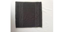 Рушник 30х30 см чорного кольору 420 г/м2