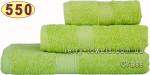 Полотенце 70х140 см св.зеленого цвета 550 г/м2