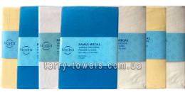 Трикотажная простынь на резинке 60х120 см